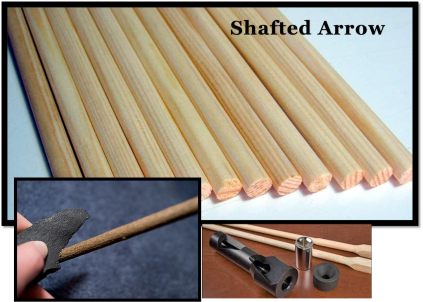 shafted arrow